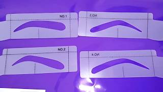 29929 набор трафаретов для бровей Oriflame