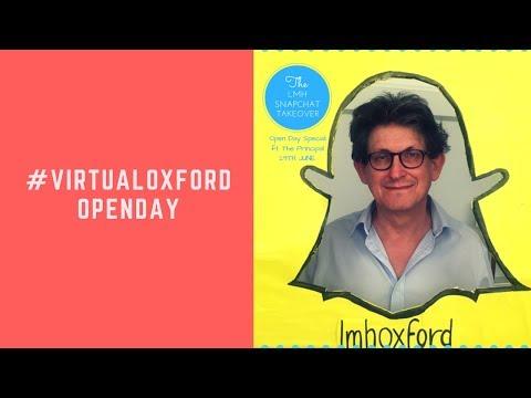 Oxford University Open Day- Virtual Tour (Snapchat Takeover)