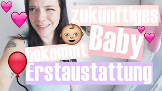 ZUKÜNFTIGES BABY BEKOMMT ERSTAUSTATTUNG  | GrasReh  #Anzeige