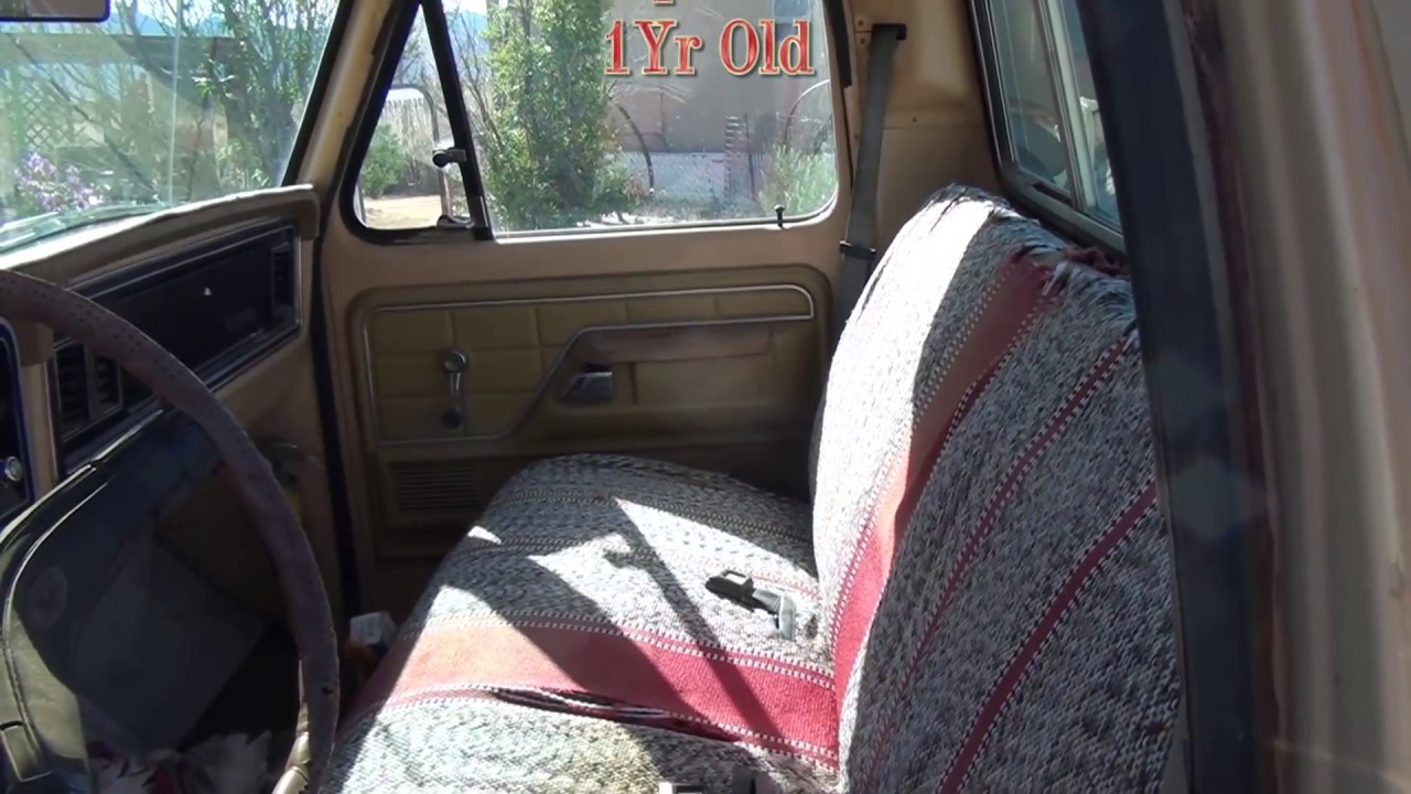 Saddle Blanket Seat Cover Update Youtube