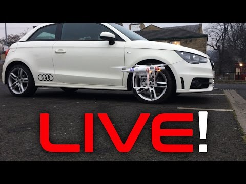 LIVE Drone Shots With The Audi A1