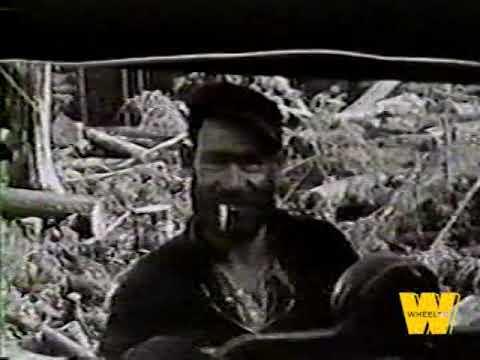 Vancouver Island Logging (1938 - 1944) Historical Footage
