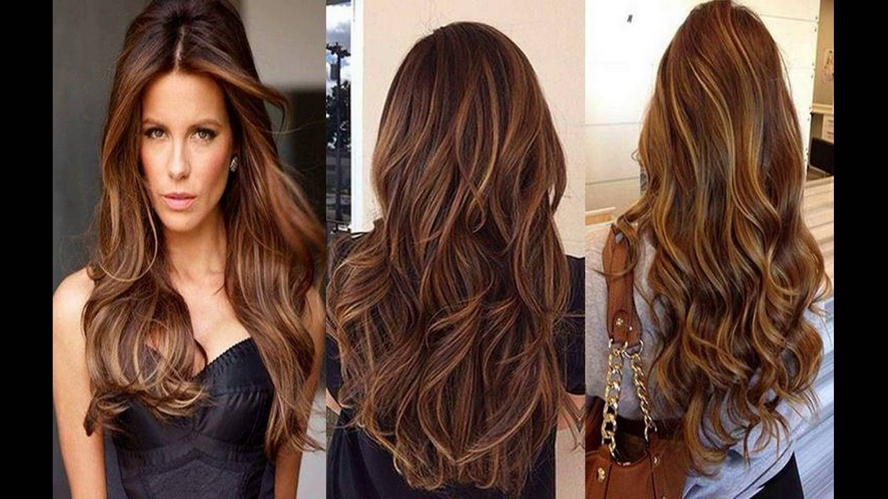 Dark Hazelnut Color And Natural Medium Highlights Best