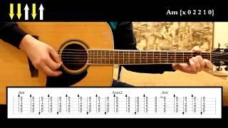 Ария - Штиль   Разбор на гитаре: аккорды, табулатура, бой