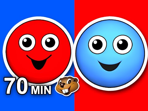 """""""Red Circle Blue Circle"""" Plus More 