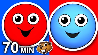 """Red Circle Blue Circle"" Plus More 