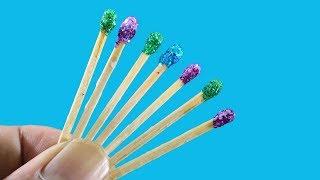 Diy Arts and Craft With Matchsticks ! Best Out Of Matchsticks Craft Ideas !