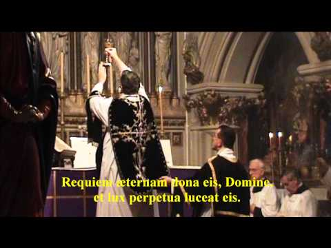 Introit and Kyrie - Traditional Requiem Mass