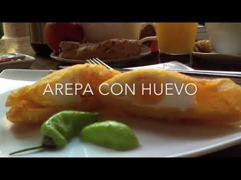 Colombian Arepa de Huevo Recipe | Glutten Free | How to make Easy Egg Arepas