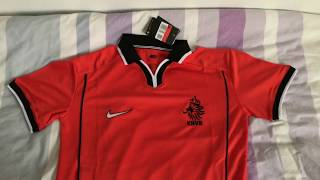 Minejerseys- Netherlands 1998 Retro Home Jersey Review
