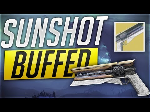 Destiny 2 - WORST EXOTIC HAND CANNON - SUNSHOT - PVP thumbnail