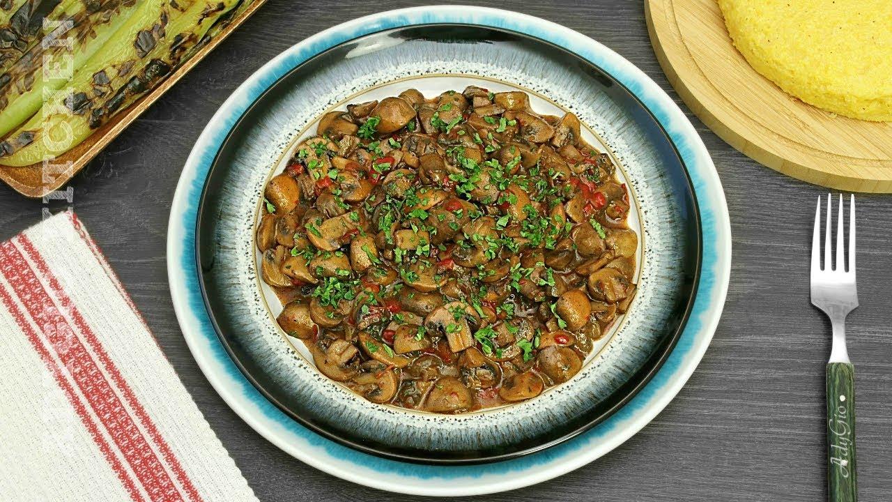 Tocanita de ciuperci reteta simpla , reteta de post | Adygio Kitchen