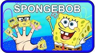 spongebob squarepants finger family songs   nursery rhymes kids songs