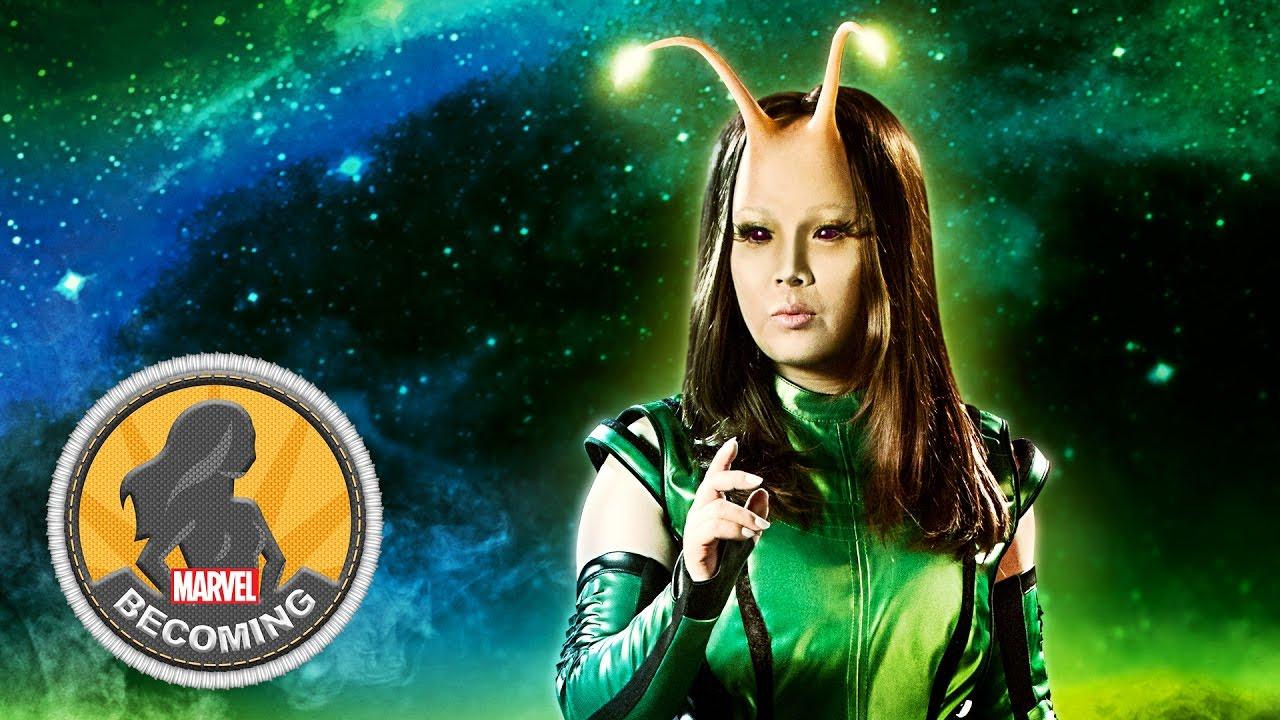 Mantis -- Marvel Becoming -- Cosplayer Miya Tamlyn