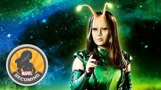 Cosplayer Miya Tamlyn becomes Mantis - Marvel Becoming