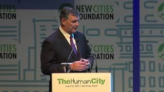 New Cities Summit 2013 - Mayor Rawlings of Dallas and John Rossant announce the 2014 Summit Location