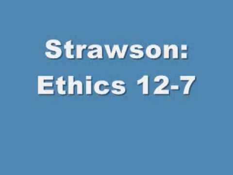 the impossibility of moral responsibility galen strawson Given the concept of moral responsibility that is culturally fundamental in the west  galen strawson 13 the impossibility of ultimate moral responsibility a podcast.