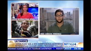 """""""La juventud venezolana sigue de frente luchando por el país"""": coordinador juvenil"""