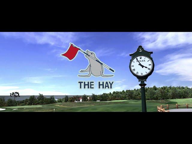 Full Swing Golf Software: The Hay at Pebble Beach Simulator Flyover