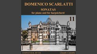 Sonata K. 211 in A Major - antino, for harpsichord
