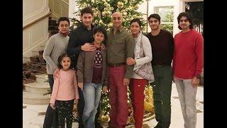 Mahesh babu with family | super star mahesh babu family with jayadev galla family  video
