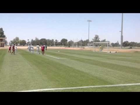 Real Salt Lake Academy U18 - Kostas Kotselas PK Goal