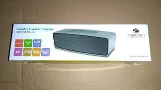 zebronics groove bluetooth speaker | best budget bluetooth speaker | best price
