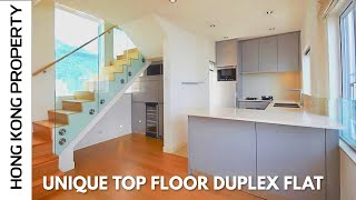 VERY UNIQUE DUPLEX APARTMENT IN GREAT LOCATION   | Hong Kong