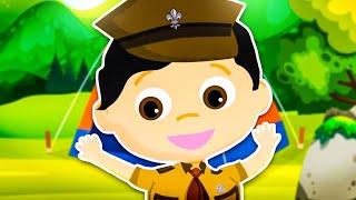 Dziecięce Przeboje - Harcerze (oficjalny teledysk)