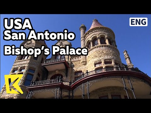 【K】USA Travel-San Antonio[미국 여행-샌 안토니오]주교관저/Bishop's Palace/Galveston/Walter Quintin Gresham