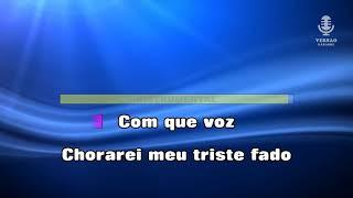 ♫ Demo - Karaoke - COM QUE VOZ - Amália Rodrigues