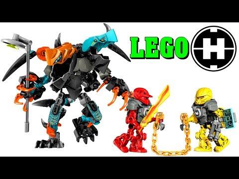 LEGO Splitter Beast VS Furno & Evo 44021 Hero Factory Build & Review