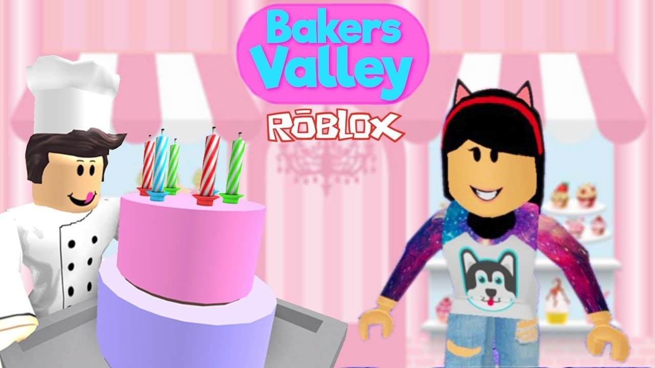 Roblox - PIOR BOLO DA CONFEITARIA (Bakers Valley) | Luluca Games