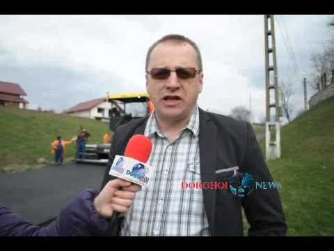 Dorohoi News - Reabilitare drum Saucenita - Sorin Ginga primar comuna Vaculesti