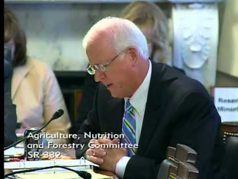 Sen. Chambliss Introduces Georgia Farmer to the Senate Agriculture Committee
