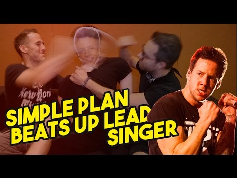 Simple Plan Beats Up Lead Singer!