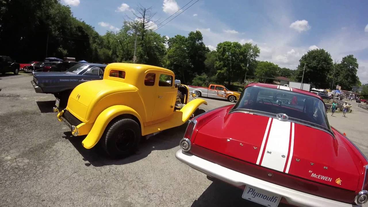 Back To The 50\'s Car Cruise. Cascade Park New Castle PA. Classic ...