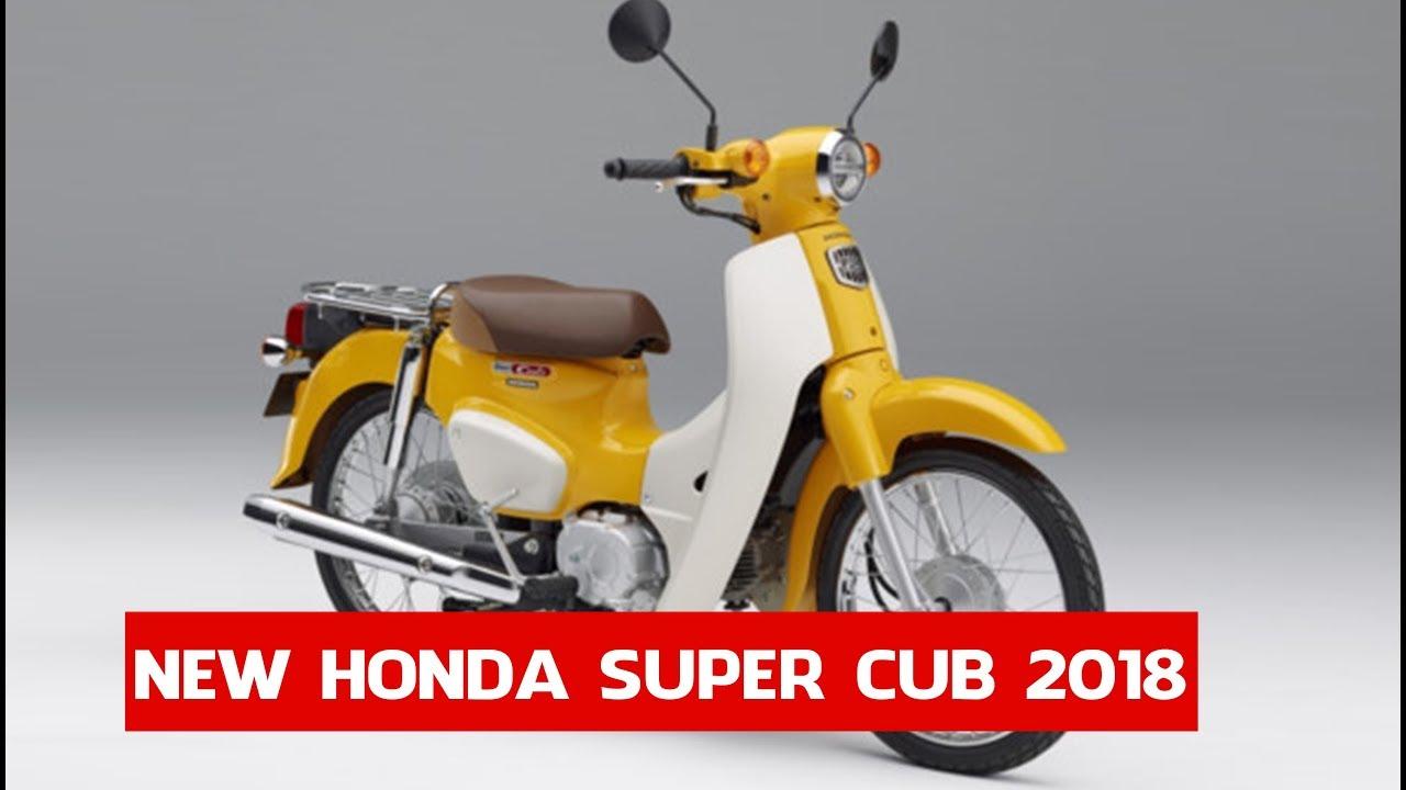 Honda Super Cub 2018 Price From 2070 2018 Honda Super Cub And