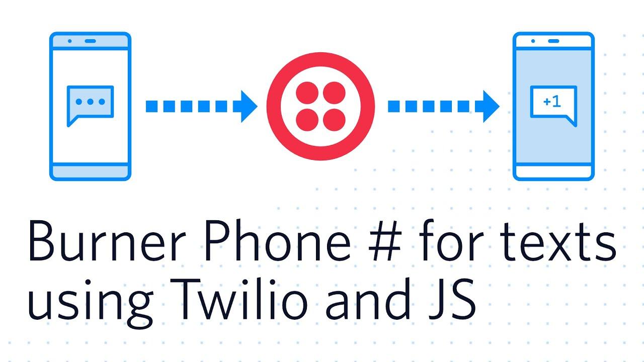 SMS Forwarding Using Twilio & JavaScript - Twilio