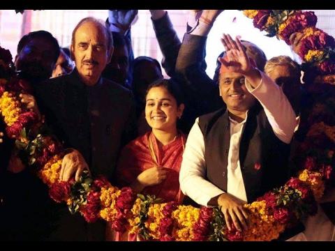Jan Man: Akhilesh Yadav campaigns for Aparna Yadav in Lucknow