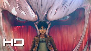 ATTACK ON TITAN (PS4) First 20 Minutes - Walkthrough Gameplay Cutscene