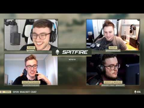 ROSTERMANIA MADNESS - Spitfire Season 2 Episode 4 with MadCat, Reedy, Tactical Rab, Tunn and Brice