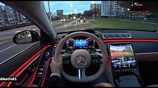 Yeni Mercedes S Serisi Test Sürüşü - TR'de ilk Kez - S500 L AMG