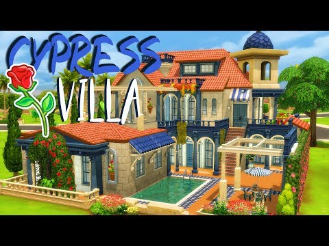 CYPRESS VILLA | Sims 4 House Building