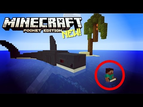 ✔️Minecraft Pocket Edition 1.0.1 // SHARK ADDON [MCPE 1.0.1]