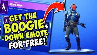 How To Get The Epic Fortnite BOOGIE DOWN Emote for Absolutely FREE