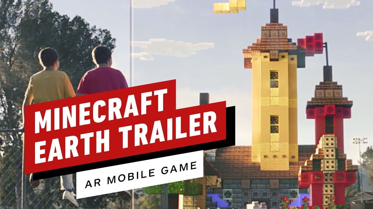 Minecraft Earth Official Reveal Trailer (AR Game) YouTube