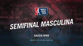 DIRECTO | SEMIS MASCULINAS Galicia Open | World Padel Tour 2015