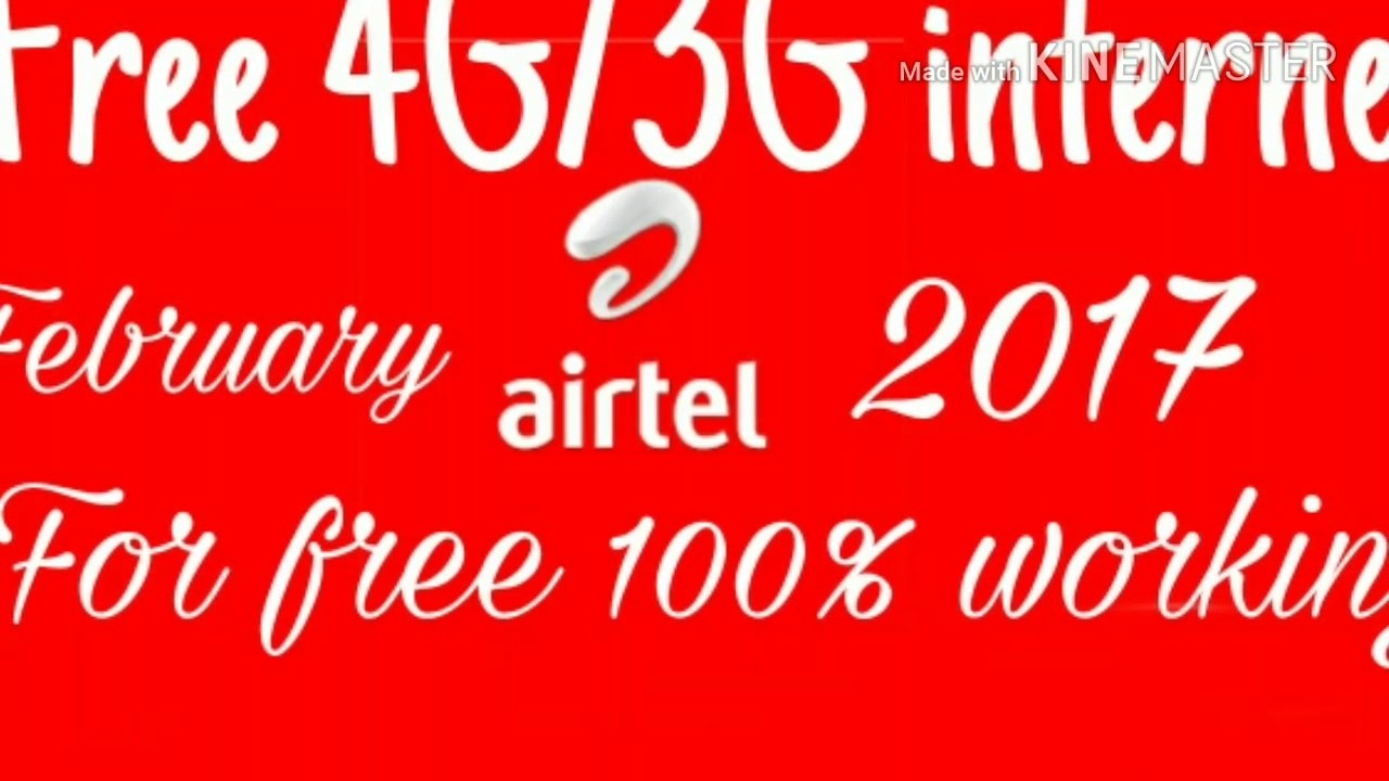 Airtel unlimited internet trick 2017 without any vpn ...