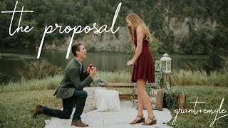THE SWEETEST PROPOSAL EVER! High School Sweethearts// Grant & Emyle